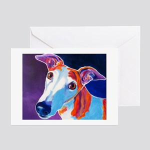 Greyhound #3 Greeting Cards (Pk of 20)