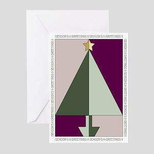 Art Deco Christmas Greeting Cards Cafepress