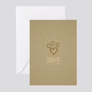 Pet Loss Sympathy From Group Greeting Cards Pk Of