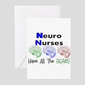 Neuro Nurse Greeting Cards - CafePress