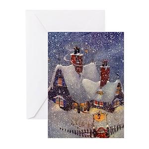 Vintage Christmas Greeting Cards Cafepress
