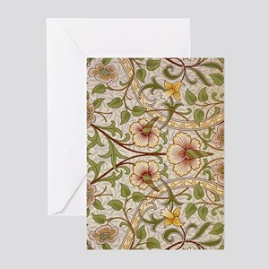 William Morris Daffodil Greeting Cards