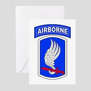 173rd Airborne Brigade Greeting Cards