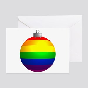 Rainbow Ornament Greeting Cards (Pk of 20)