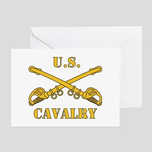 US Cavalry Greeting Cards