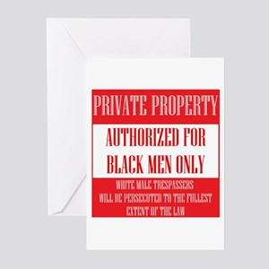 Private Property Greeting Cards (Pk of 20)