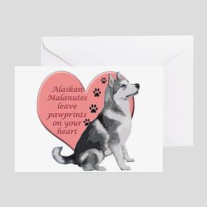 Alaskan Malamute Greeting Cards (Pk of 20)