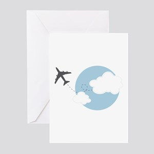 Travel The World Greeting Cards