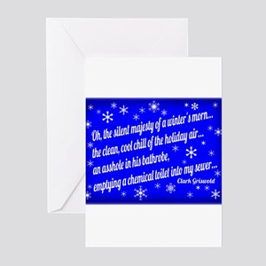 Winter Morning Greeting Cards
