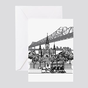 New Orleans Greeting Cards (Pk of 20)