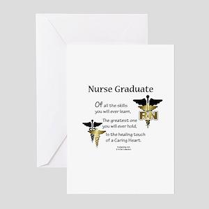RN Nurse Graduate Greeting Cards (Pk of 10) CD Gre