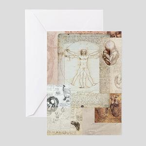 Vitruvian Greeting Cards