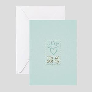 Pet Loss Sympathy Blue Greeting Cards (Pk of 20)