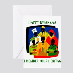Happy Kwanzaa Greeting Cards