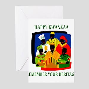 Happy Kwanzaa Greeting Cards