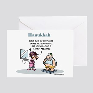 Hanukkah Festival Of Lights Pk 20 Greeting Cards