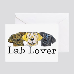 Lab Lover Greeting Cards (Pk of 20)