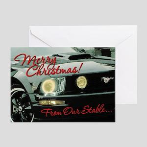 Mustang Greeting Cards V2 (Pk of 20)