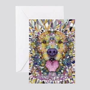 Rainbow Dog Greeting Cards