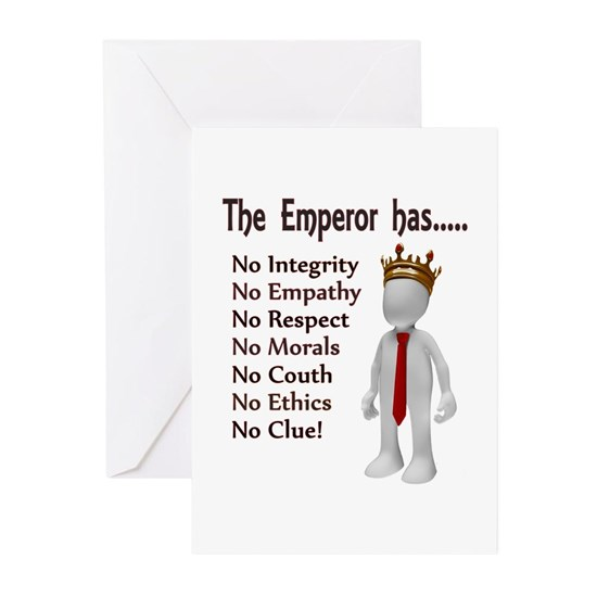 The Emperor has no...