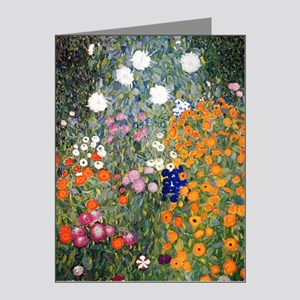 Gustav Klimt Flower Garden Note Cards (Pk of 10)