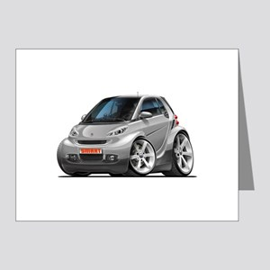 Smart Silver Car Note Cards (Pk of 10)