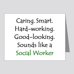 social worker sound Note Cards (Pk of 10)