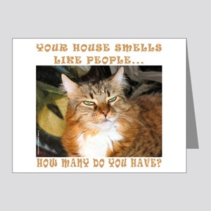 Funny Cat Note Cards (Pk of 10)