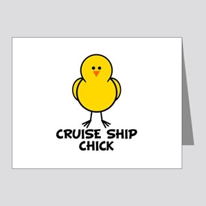 Cruise Ship Chick Note Cards (Pk of 10)