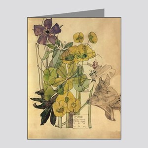 Charles Rennie mackintosh Note Cards (Pk of 10)