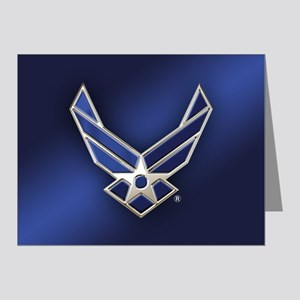 U.S. Air Force Logo Detailed Note Cards (Pk of 10)