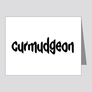 curmudgeon Note Cards (Pk of 10)