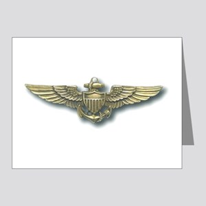 'Naval Aviator Wings' Note Cards (Pk of 10)