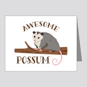 Awesome Possum Note Cards