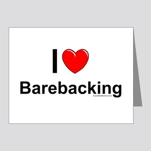 Barebacking Note Cards (Pk of 10)