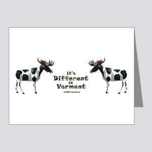 Vermont Moose Note Cards (Pk of 10)