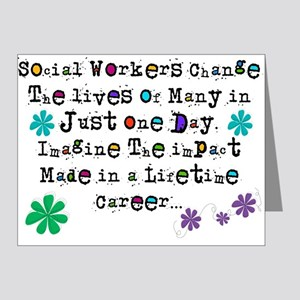 Social Worker Quote Note Cards