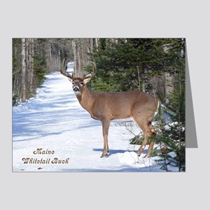 Winter Buck Note Cards (Pk of 10)