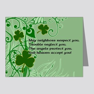 Irish Blessing G Note Cards (Pk of 10)