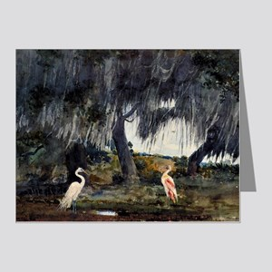 At Tampa, painting by Winslo Note Cards (Pk of 10)