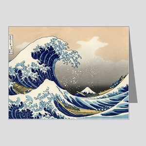 hokusai great wave Note Cards (Pk of 10)