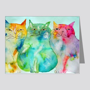 Haleiwa Cats 250 Note Cards (Pk of 10)