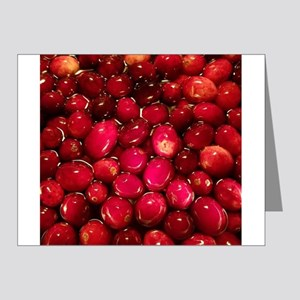 cranberries Note Cards