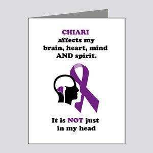 Chiari Affects... Note Cards (Pk of 10)