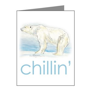 chillin' Note Cards (Pk of 10)