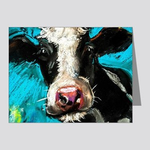 Cow Painting Note Cards
