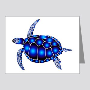 sea turtle ocean marine beac Note Cards (Pk of 10)