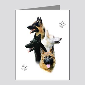 GSD Quad Note Cards (Pk of 10)