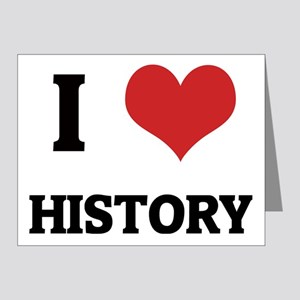 HISTORY Note Cards (Pk of 10)