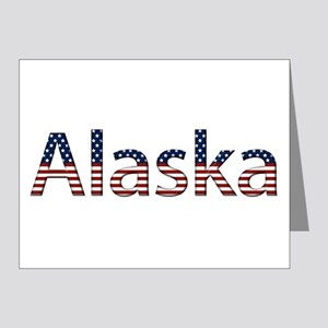 Alaska Stars and Stripes Note Cards (Pk of 10)